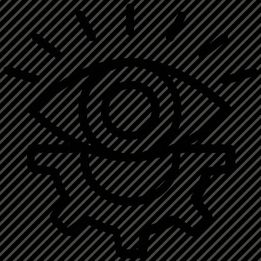 cogwheel, creative production, creativity, preferences, productivity icon