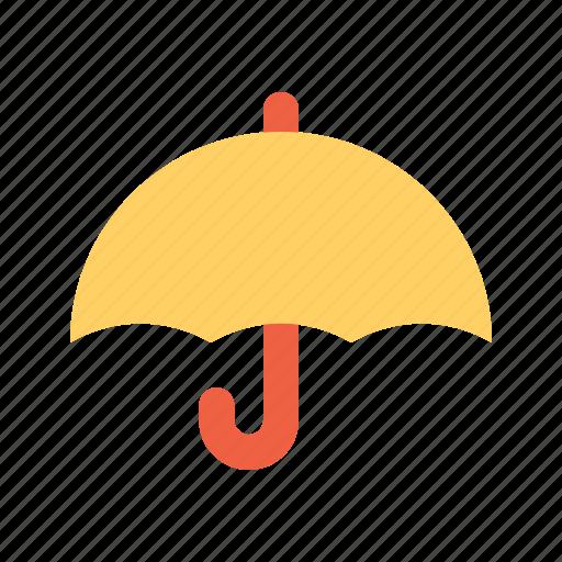 protection, rain, ubrealla icon