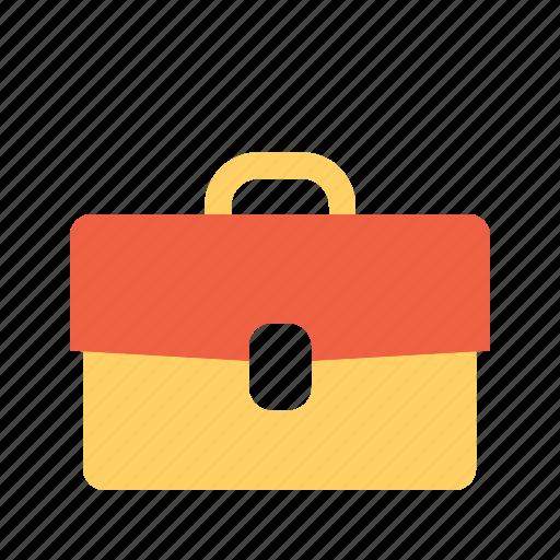 briefcase, ocupation, work icon