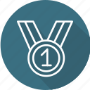 award, business, medal, modern icon