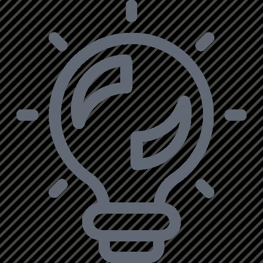 bulb, creative, idea, illumination, solution icon