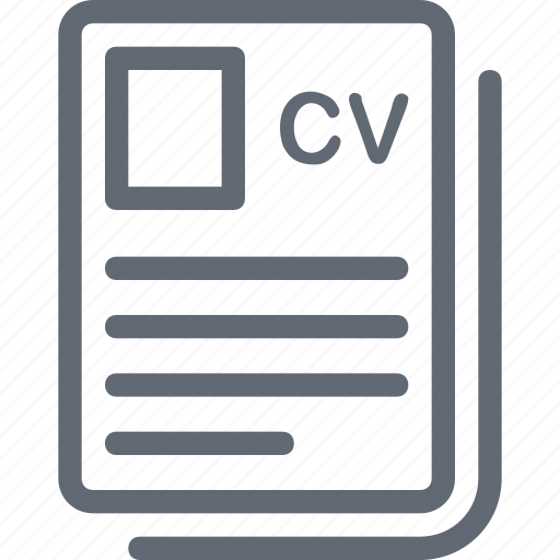biodata  cv  job application  job profile  resume icon