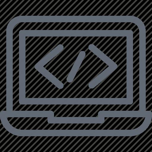 coding, html, html coding, programming, web development icon
