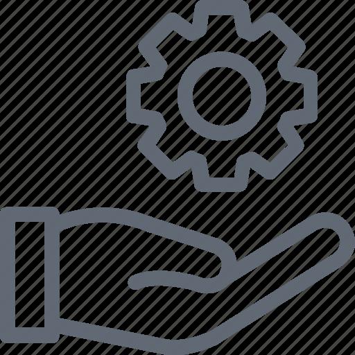 Cogwheel, setting, gear, cog, preferences icon