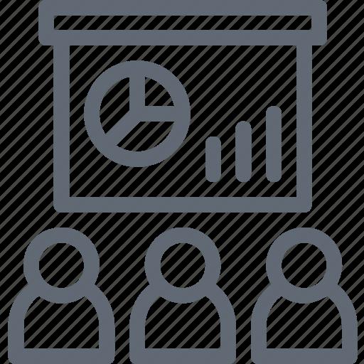 analysis, business chart, business presentation, chart, diagram, graph, statistics icon