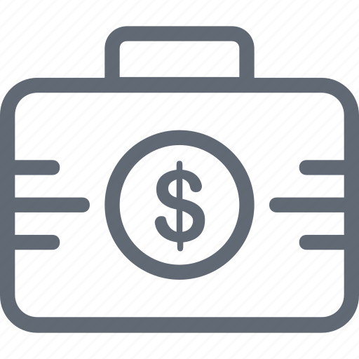 Money, currency bag, finance, dollar bag, payment icon