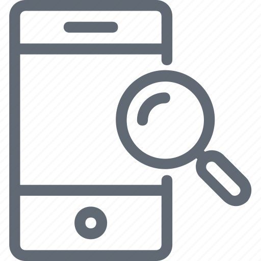 device, magnifier, mobile, mobile scanning, search, search mobile, smartphone icon