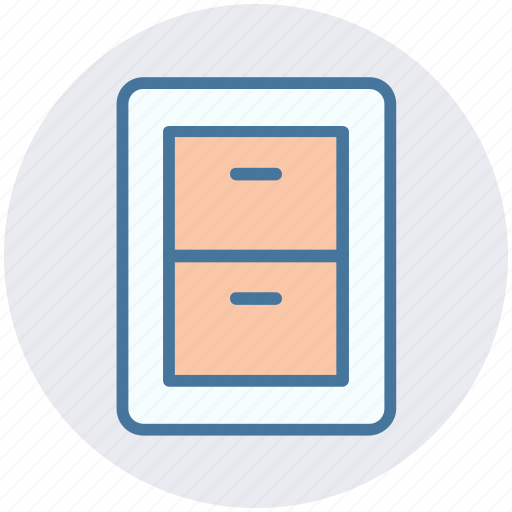 cabinet, closet, draw, furniture, room draw icon