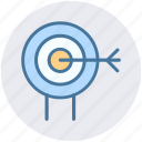 aim, ambition, shooting, shooting target, sports shooting, target icon