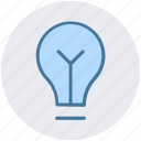 bulb, idea, lamp, light, light bulb, room bulb icon