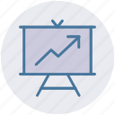 analysis, analytics, finance, financial, graph icon