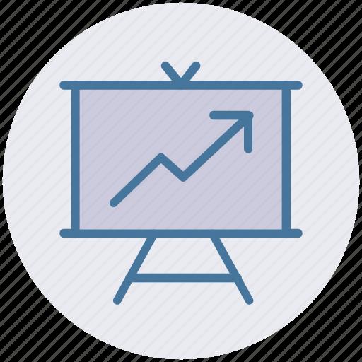 analysis, analytics, finance, financial, graph icon