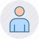 employee, human, man, profile, user icon