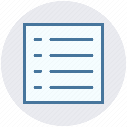 article, doc, file, paper, text, writing icon