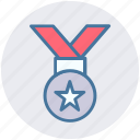 finance, medal, money, position, reward icon