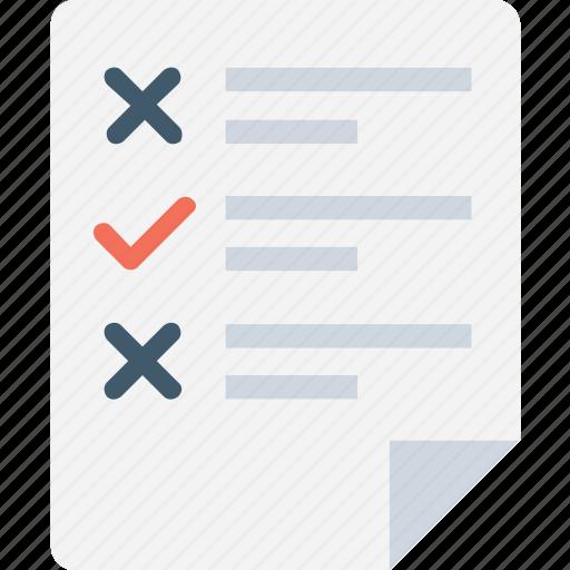agenda, checklist, list, memo, shopping list icon
