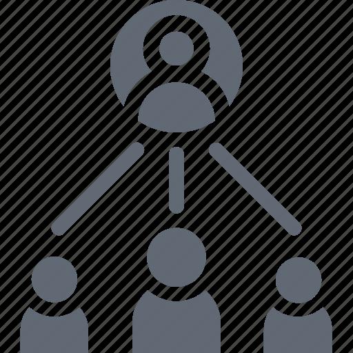 Marketing, viral marketing, network, affiliate marketing, social network icon