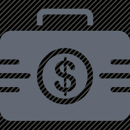 currency bag, dollar bag, finance, money, money bag icon