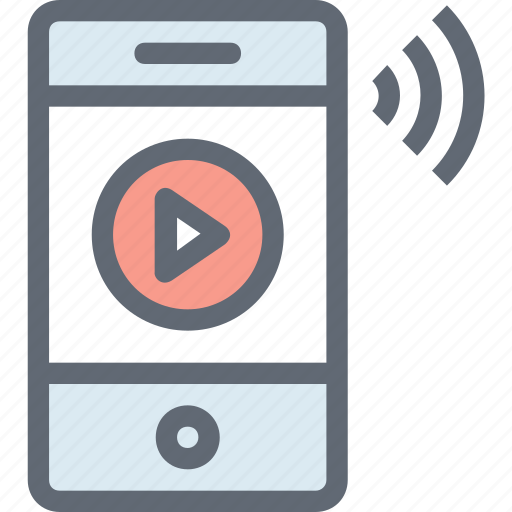laptop, live streaming, online streaming, online video, video player icon