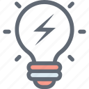 bulb, creative, idea, illumination, strategy icon