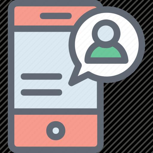 mobile, mobile account, mobile development, smartphone, video call icon