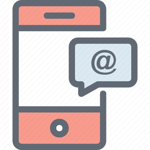 message, mobile, mobile chatting, mobile email, mobile massage icon