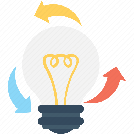 Bulb, creativity, idea, invention, process icon - Download on Iconfinder