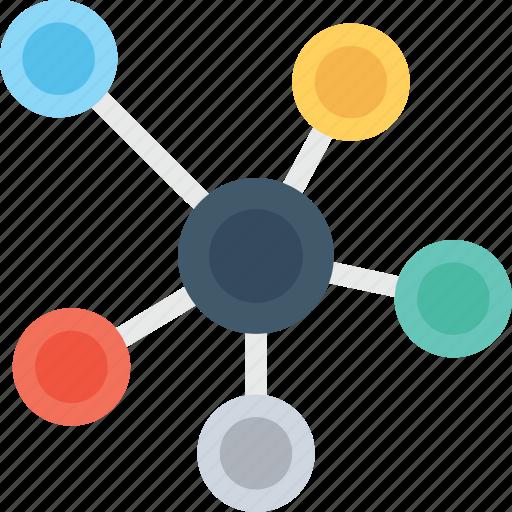 Atom, electron, hexagons, molecule, science icon - Download on Iconfinder