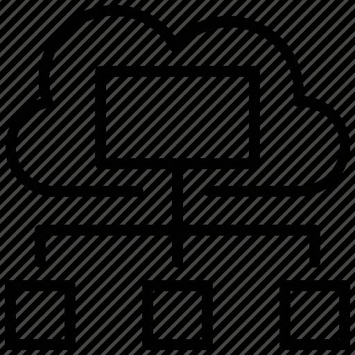 cloud computing, cloud connection, cloud network, cloud service, data cloud icon