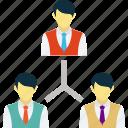 collaboration, group, network, team, teamwork icon