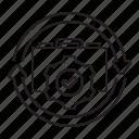 automation, brief case, workflow icon