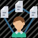 multiple, tasks, multitasking, multitasker, user icon