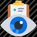 project, visualisation, visualise, eye, tasks, clipboard