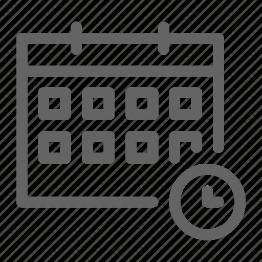 Deadline, management, project, schedule icon - Download on Iconfinder