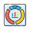 analysis, analytics, chart, dashboard, diagram, project dashboard, statistics icon