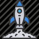 launch, browser, webpage, website, rocket, release