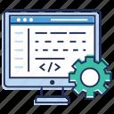 computer language, html, programming, web coding, web development icon
