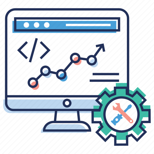 coding, html, javascript, php, programming icon