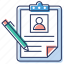 agreement, job contract, payment plan, signing contract, work contract icon