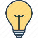bulb, cable, creative, dark, electric, energy, idea
