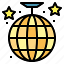 ball, dance, disco, entertainment, party icon