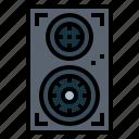 audio, loudspeaker, sound, speakers