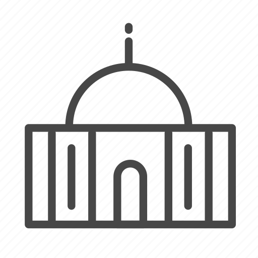 Accommodation, dome, mosque, property, residence icon - Download on Iconfinder