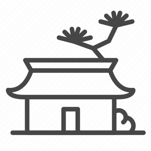 Accommodation, house, japan, japanese, property, ryokan icon - Download on Iconfinder