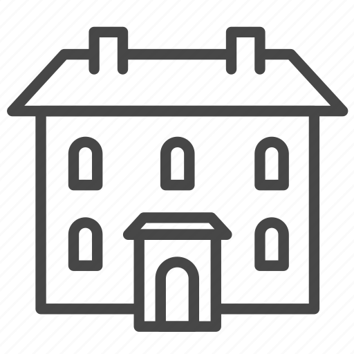 Accommodation, apartment, house, inn, property, residence, patrimony icon - Download on Iconfinder