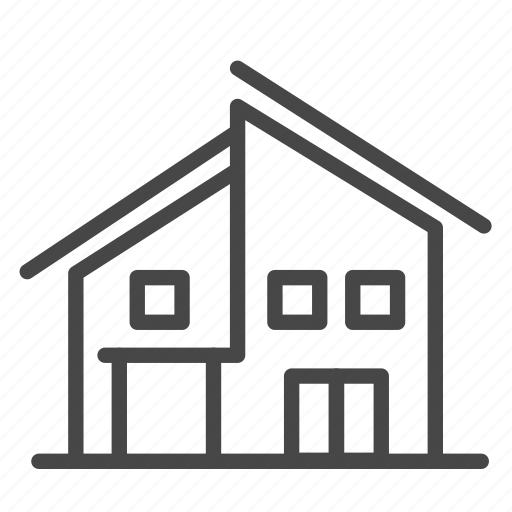 accommodation, building, homestay, house, property, residence icon