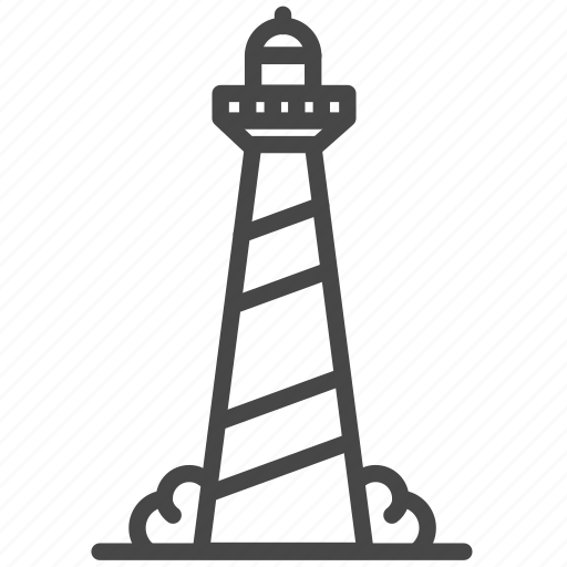 Accommodation, house, lighthouse, property, residence, tower icon - Download on Iconfinder