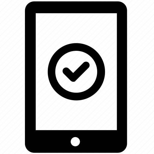 accepted, approved, data, device, protection, secured icon