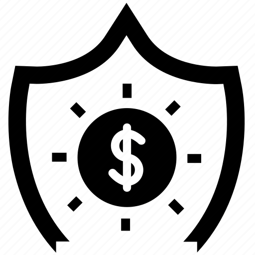 earnings, insurance, money, payment, secure, valuables, vault icon