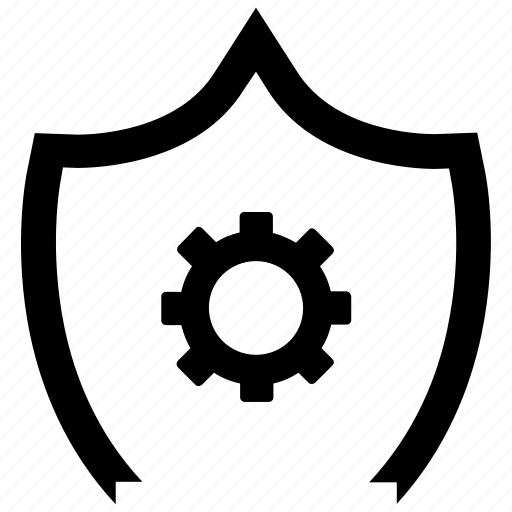 job, optimization, protection, service, shield, support, work icon
